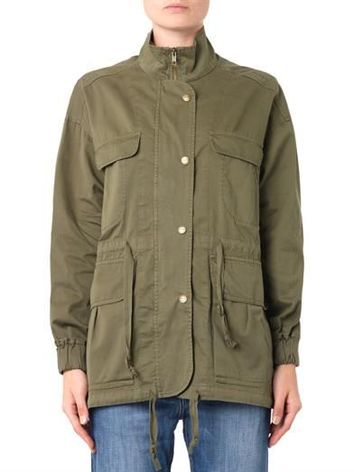 Current/Elliott The Leisure cotton parka