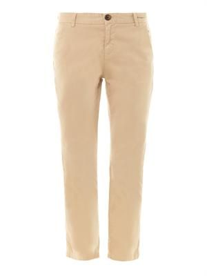 The Captain mid-rise straight trousers