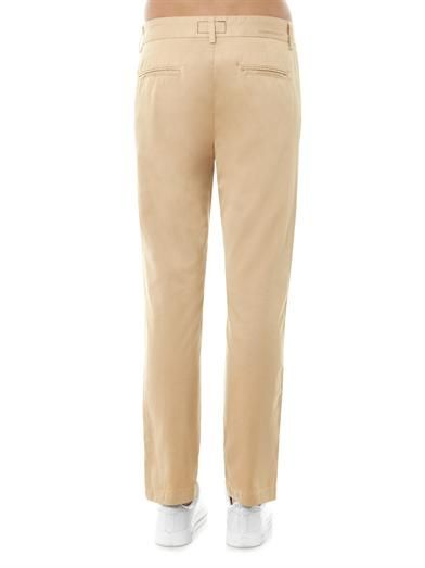 Current/Elliott The Captain mid-rise straight trousers