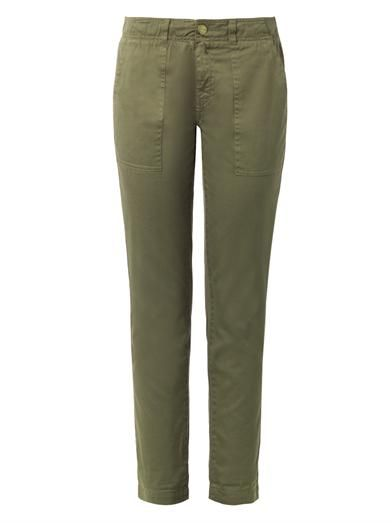 Charlotte Gainsbourg X Current/Elliott The Army Buddy cotton trousers