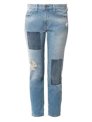 The Fling low-rise boyfriend jeans