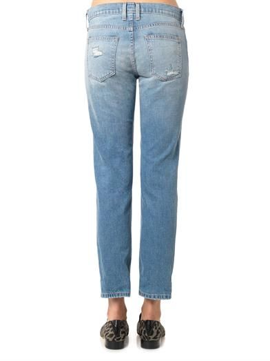 Current/Elliott The Fling low-rise boyfriend jeans
