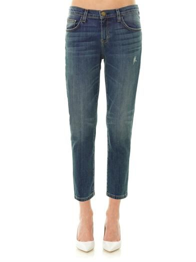 Current/Elliott The Skinny Boy low-slung boyfriend jeans