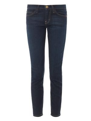 The Stiletto mid-rise skinny jeans