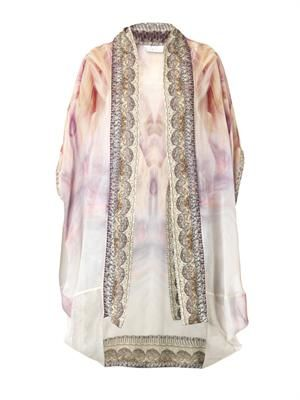 Halcyon Days silk cover-up