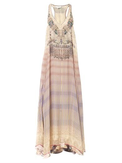 Camilla Earth Chant maxi dress
