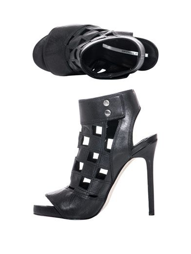 Camilla Skovgaard Squares cut-out shoes