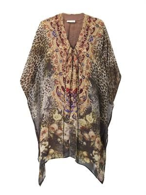 The Lover silk kaftan