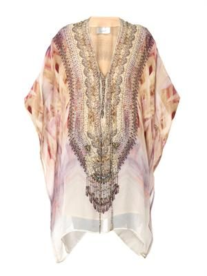 Halcyon Days silk kaftan