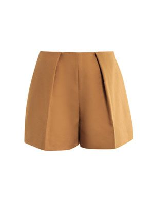 Full pleat shorts