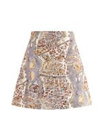 Paris-print skirt