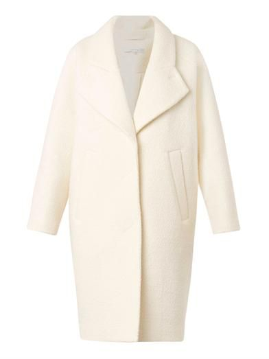Carven Curly-wool oversized coat