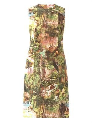 Jungle-print dress