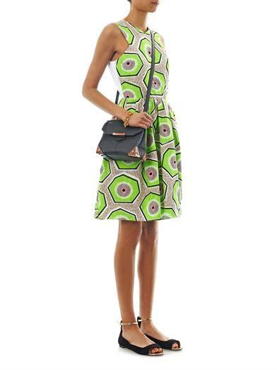 Carven Kiwi-print day dress