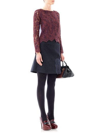 Carven Cornelis lace top