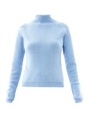 Turtle-neck wool sweater