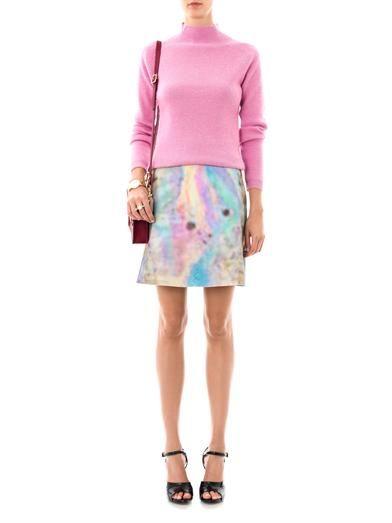 Carven Turtle-neck wool sweater