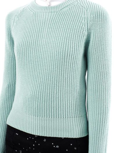 Carven Ribbed wool sweater