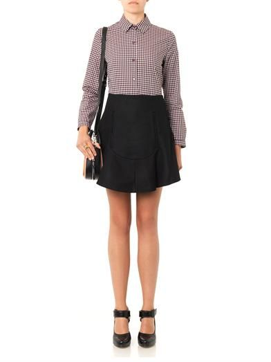 Carven Checked cotton shirt