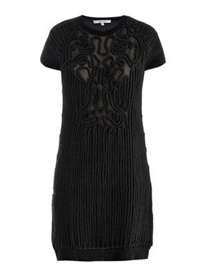 Cornley detail knitted dress