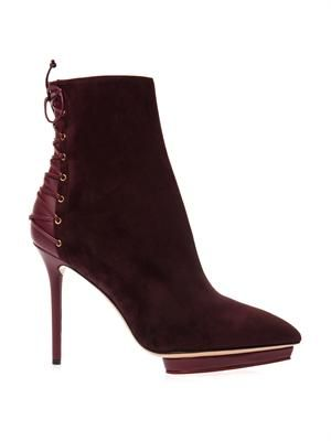 Deborah lace-up ankle boots