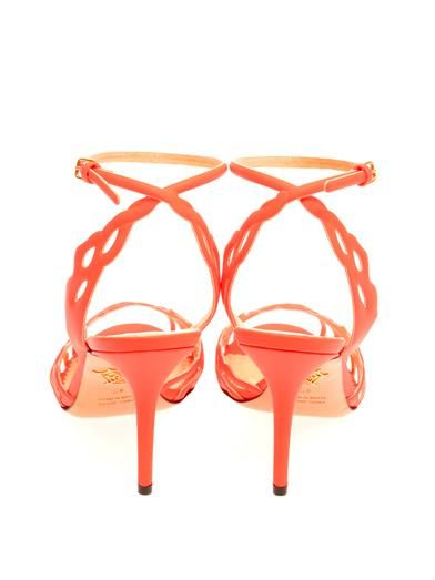 Charlotte Olympia Coralena leather sandals