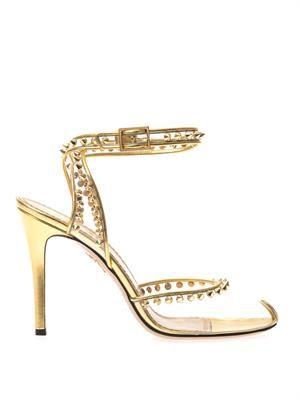 Soho studded PVC sandals