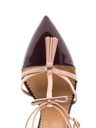 Charlotte Olympia Trixy patent leather pumps