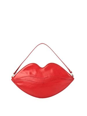 Big Kiss clutch bag