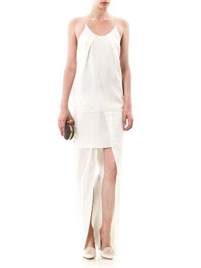 Charlotte Olympia Desiree silk-twill pumps