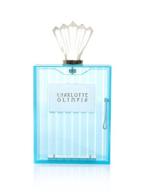 Scent bottle Perspex clutch
