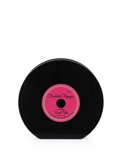 Charlotte Olympia Vinyl record clutch