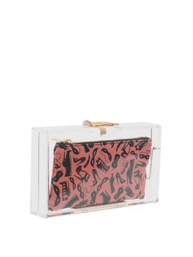 Charlotte Olympia Pandora Hands On clutch