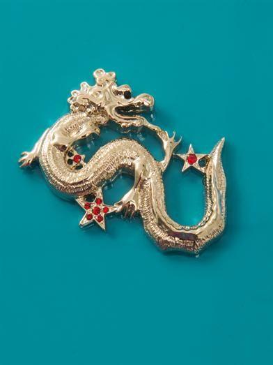 Charlotte Olympia Dragon Zodiac Pandora clutch