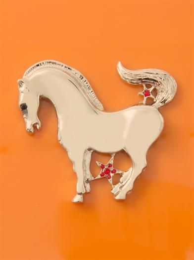 Charlotte Olympia Horse Zodiac Pandora clutch