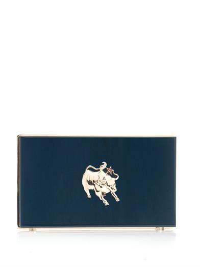 Charlotte Olympia Ox Zodiac Pandora clutch