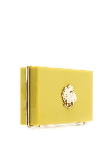 Charlotte Olympia Rooster Zodiac Pandora clutch