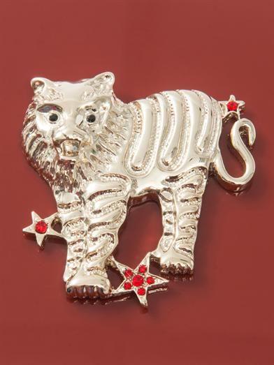 Charlotte Olympia Tiger Zodiac Pandora clutch