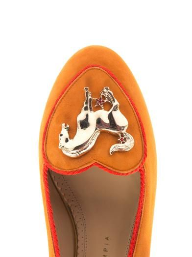 Charlotte Olympia Year of the Horse flats