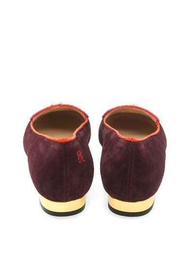 Charlotte Olympia Year of the Monkey flats