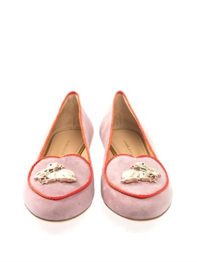 Charlotte Olympia Year of the Rabbit flats