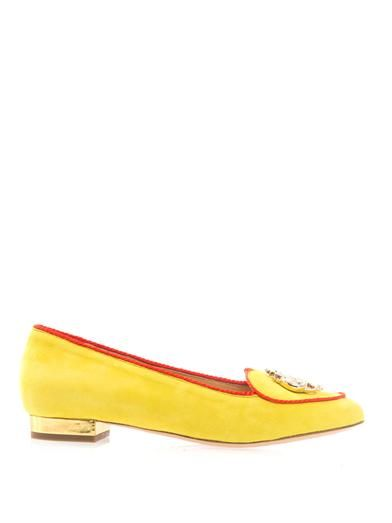 Charlotte Olympia Year of the Rooster flats