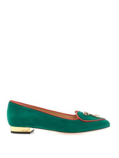 Charlotte Olympia Year of the Snake flats