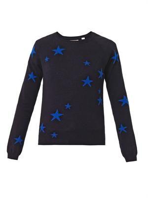 Stars intarsia cashmere sweater