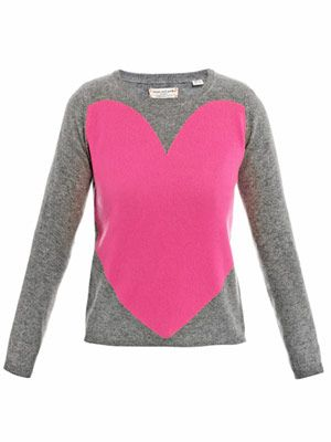 Big heart sweater