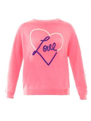 Love Heart cashmere sweater