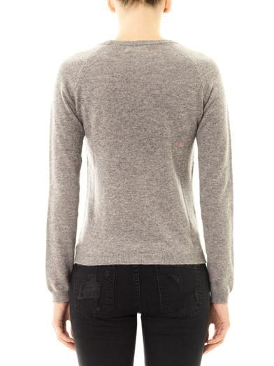 Chinti and Parker Bisous cashmere sweater