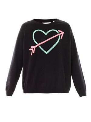 Cupid arrow cashmere sweater