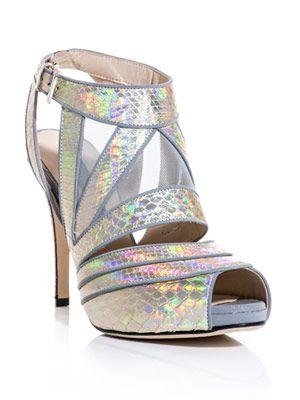 Sunburst sandals