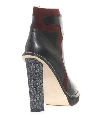 Chrissie Morris Obi stingray ankle boots